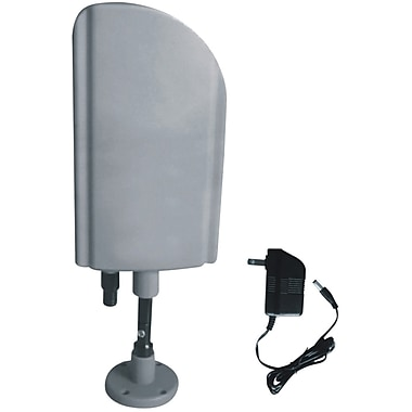 Digiwave Indoor and Outdoor HDTV Antenna with Booster, CUL Approval Adaptor (ANT4008)