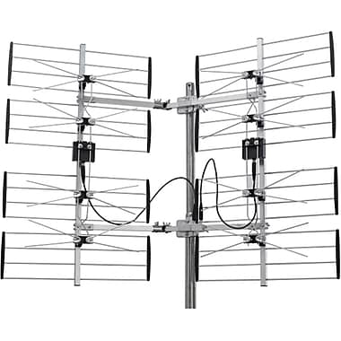 Digiwave 360-Degree Adjustable Multidirectional 8 Bay HDTV Antenna (ANT7287)