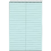 "TOPS® Prism™ Steno Book, Blue, Gregg Ruled, 6"" x 9"", 80 Sheets, 4/Pack"
