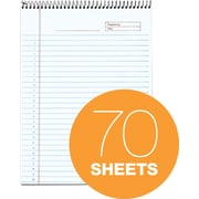 "TOPS® Docket Gold Project Planner Pad, 8.5"" x 11.75"", Special Rule, White, 70 Sheets/Pad (99701)"