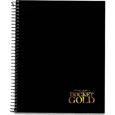 TOPS® Docket® Gold Project Planner Pad, Side Wire Bound, 8-1/2