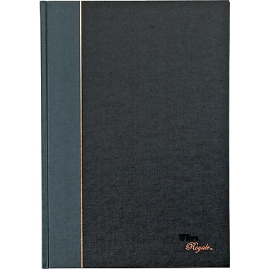 TOPS® Royale® Grey Geltex Bound Executive Notebook, 11 3/4
