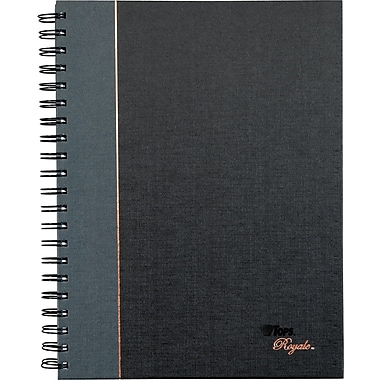 TOPS® Royale® Executive Wire-O Notebook, Legal Ruled, 96 Sheets