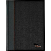 "TOPS® Royale® Grey Geltex Bound Executive Notebook, 10 1/2"" x 8"", Legal Ruled, 96 Sheets"