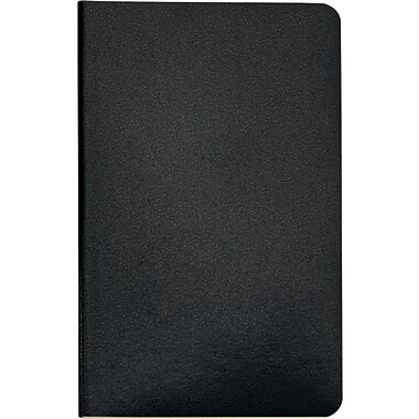 Idea Collective® Mini Softcover Journal, Wide Rule, Black, 2/Pack