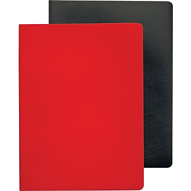 Tops® Idea Collective™ Large Softcover Journal, 2-Pack, Red & Black Covers, 96 pages, 10in. x 7-1/2in.