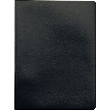 Idea Collective® Large Softcover Journal, Wide Rule, Black, 2/Pack