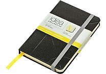 Idea Collective® Mini Hardbound Journal, Wide Rule, Black
