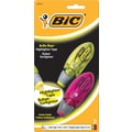 Bic Brite Liner® Highlighter Tape, Assorted, 2/Pack