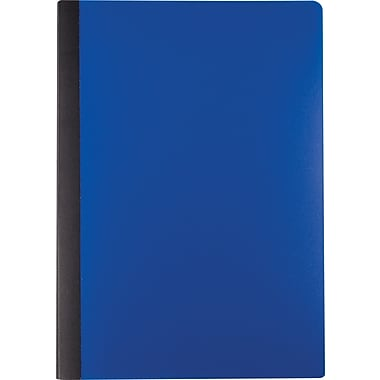 Staples® Mini Poly Composition Notebook, Blue, 5in. x 7in.