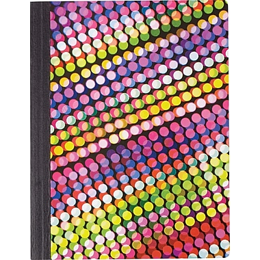 Staples Fashion Composition Book, Dots, 9 3/4