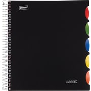 "Staples® Accel Durable Poly Cover Notebook, 8-1/2"" x 11"""