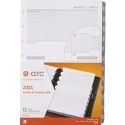 M by Staples ARC System 2015 Weekly/Monthly Planner Refill 5X8