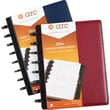M by Staples™ Arc System 2014 Weekly/Monthly Leather Planner, Assorted, 5 1/2in. x 8 1/2in.