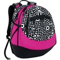 Fatboy Backpack, Dots/Black/Fuchsia