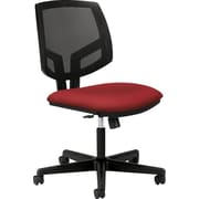 HON Volt Fabric Executive Office Chair, Armless, Crimson (5713GA42T.COM)