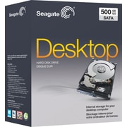 Seagate Desktop 500GB SATA 3.0 (3 Gb/s) 7200 RPM 3.5 Internal Hard Drive