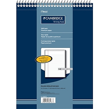 Cambridge® Premium Note Pad, 8-1/2