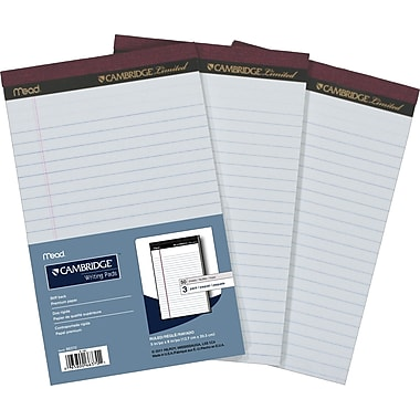 Cambridge® Perforated Pads, 5