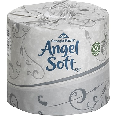 Angel Soft® Bath Tissue Rolls, 2-Ply, 20 Rolls/Case