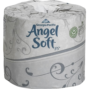 Angel Soft Bath Tissue Rolls, 2-Ply, 80 Rolls/Case