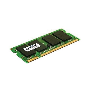 Crucial 2GB (2 x 1GB) DDR2 (200-Pin SO-DIMM) DDR2 667 (PC2 5300) Notebook Memory Module