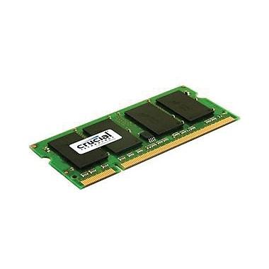 Crucial 2GB (2 x 1GB) DDR2 (200-Pin SO-DIMM) DDR2 667 (PC2 5300) Notebook Memory Module
