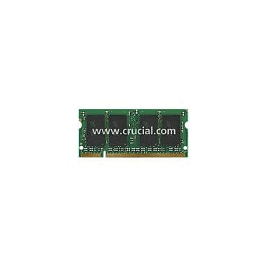 Crucial 4GB (2 x 2GB) DDR2 (200-Pin SO-DIMM) DDR2 800 (PC2 6400) Notebook Memory Module