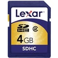 Lexar® 4GB SDHC (Secure Digital High Capacity) Class 2 Flash Memory Card