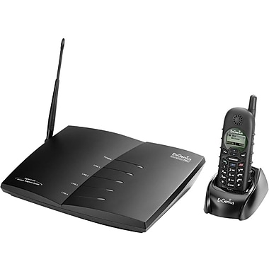 EnGenius® DuraFon PRO Long-Range Multi-Line Expandable Cordless Phone System, 90 Name/Number