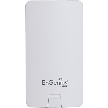 EnGenius® ENS202 High Powered Long Range Wireless N300 Outdoor Client Bridge, 2.4GHz