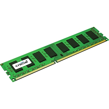 Crucial 4GB (1 x 4GB) DDR3 (240-Pin DIMM) DDR3 1600 (PC3 12800) Single Ranked Desktop Memory Module