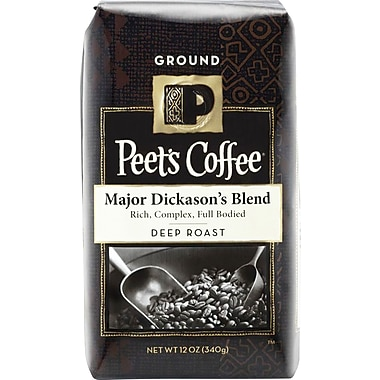 Peet's Major Dickason's Blend, Deep Roast Ground Coffee, 12 oz