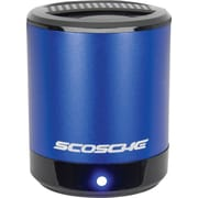Scosche boomCAN Portable Media Speaker, Blue