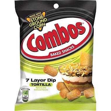 Combos® 7 Layer Dip Pretzels, 6.3 oz., 12 Bags/Box