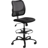 Safco® Vue™ Armless Extended Height Stool, Black