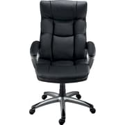 Staples Burlston® Luxura® Managers Chair, Black or Camel