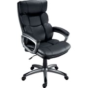 Staples Burlston® Luxura® Managers Chair, Black