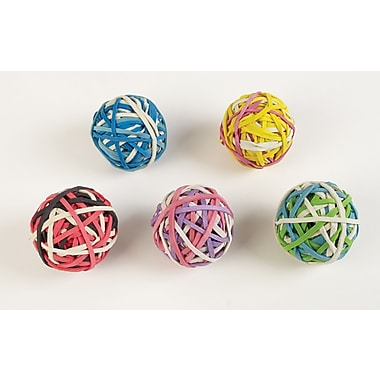 Staples® Rubber Band Ball, 2/Pack