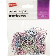 Staples® #1 Paperclip 100 PK - Tiger