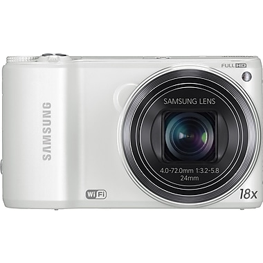 Samsung WB250 SMART Camera, White