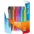 PaperMate, InkJoy 100RT, Retractable Ballpoint Pens, Medium Point, Black and Assorted Ink Colors, 20/Packs