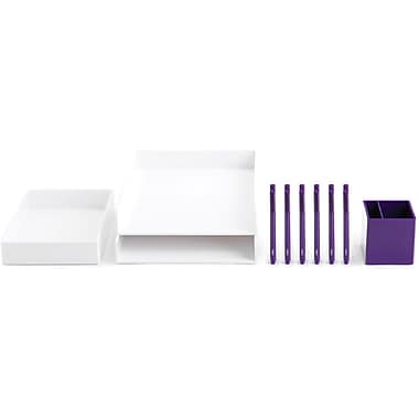 Poppin Purple Desktop Set