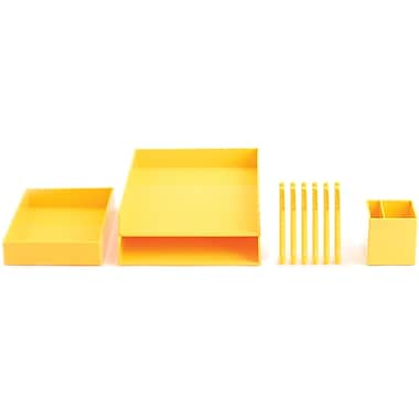 Poppin Yellow Desktop Set