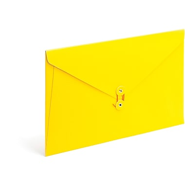 Poppin Yellow PU Envelope Folio