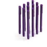 Poppin Purple Signature Ballpoint Pens