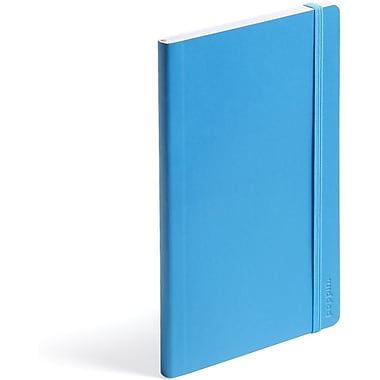 Poppin Medium Soft Cover Notebook, Pool Blue (100006)
