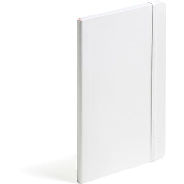 Poppin White Medium Soft Cover Notebook