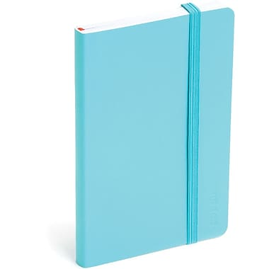 Poppin Aqua Small Soft Cover Notebook, Set of 2