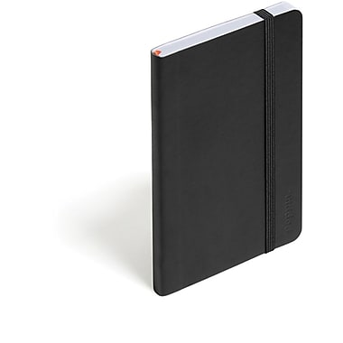 Poppin Black Small Soft Cover Notebook, Set of 2